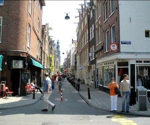 tour of Jordaan district in Amsterdam