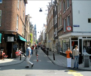 tour of Jordaan district in Amsterdam