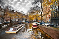 Amsterdam canal bus hop on hop off