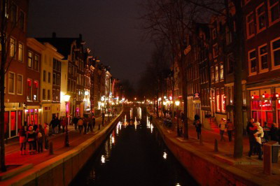 Red Light District Amsterda