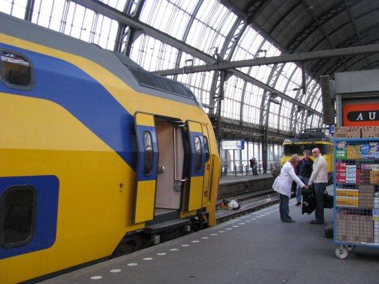 trains in Amsterdam