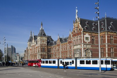 amsterdam transport, trams