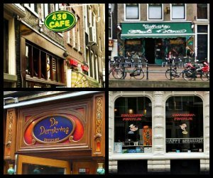 Amsterdam coffee houses