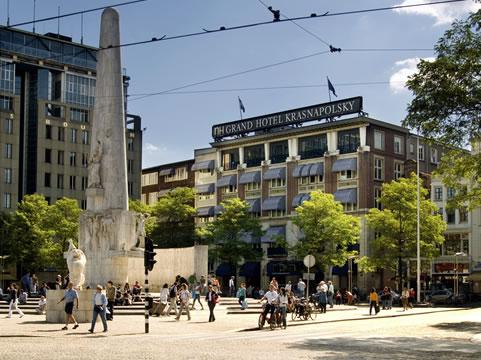 dam square amsterdam, krasnapolsk