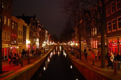 Red light district, amsterdam to go