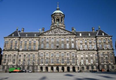 dam square amsterdam, royal palace